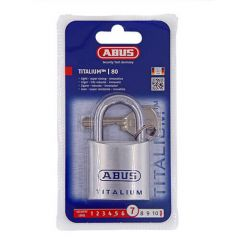Abus 80TI Titalium 45mm Open Shackle Padlock