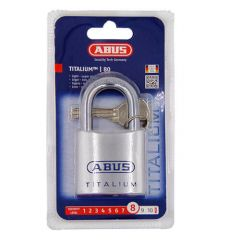 Abus 80TI Titalium 50mm Open Shackle Padlock