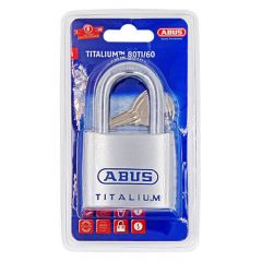 Abus 80TI Titalium 60mm Open shackle Padlock