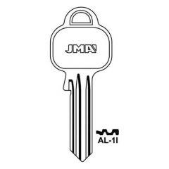 JMA AL-1I Cylinder Key Blank