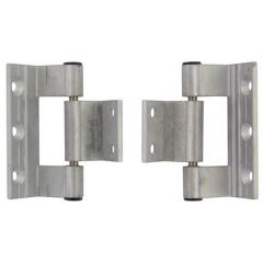 Rebated Aluminium Door Hinge
