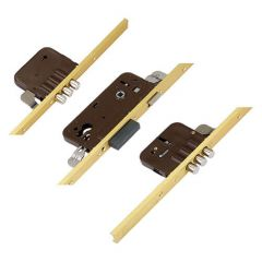 Azbe Latch Deadbolt 6 Pin Bolts Key Wind