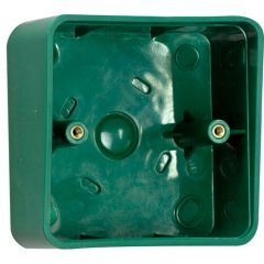 TSS Green Plastic Shrouded Back Box