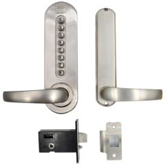 Union CodeGUARD5 British Standard mechanical Digital Lock Stainless Steel