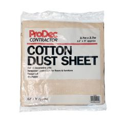 Cotton Twill Dust Sheet 12 Metre x 9 Metre