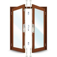 ERA 5345 French Door Kit for a pair of rebated timber doors