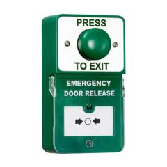 TSS Dual Push to Exit & Emergency Door Release with Dome Button