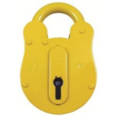 Fire Brigade FB14 Open Shackle Yellow Padlock