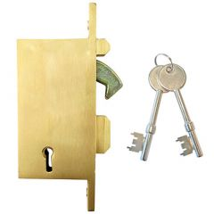 Willenhall G17 5 Lever Gate Lock