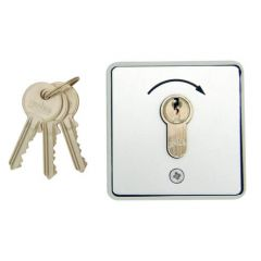 Geba 1 Way Roller Shutter Key Switch