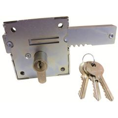 Gatemaster Euro Deadbolt for Gates with 30/30 Euro Double Cylinder