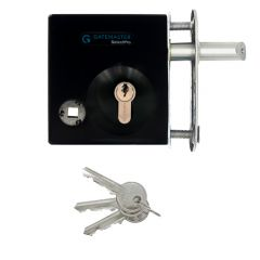 Gatemaster Bolt on Gate Lever Operated Deadlocking Latch - Suits 40mm - 60mm Box Sections