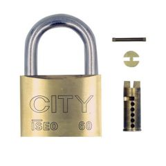Iseo Sub Assembled Open Shackle 60mm Brass Padlock