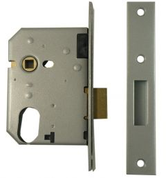 Union 21412 Oval Escape Mortice Deadlock