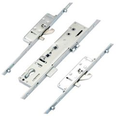 Lockmaster Latch Deadbolt 2 Hooks 2 Anti Lift Pins 4 Rollers Double Spindle