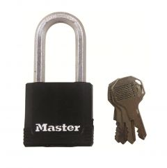 Master 115 Excell Series Weather Tough Long Shackle Padlock