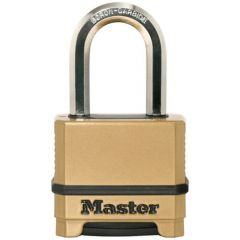 Master Excell M175 50mm Open Shackle Combination Padlock