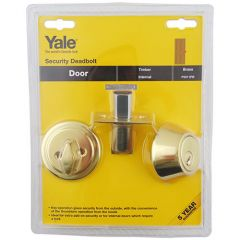 Yale P5211 Security Key & Turn Mortice Deadbolt