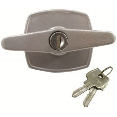 Marley Garage Door T Handle - 2 Lug - Rear Fix - 50mm Centres