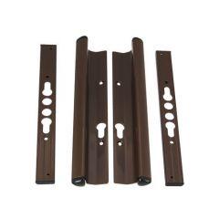 Universal Schlegel Patio Door Handles - Brown