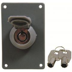 Universal Garage Door Electric Tubular Key Switch with Weather Cap