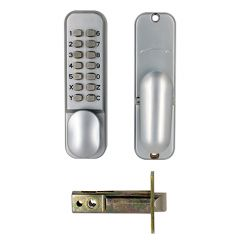 TSS Digital Lock with Tubular Mortice Latch