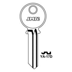 JMA YA-17D Yale 6 Pin Key Blank