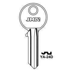 JMA 1A Yale 5 Pin Key Blank Steel
