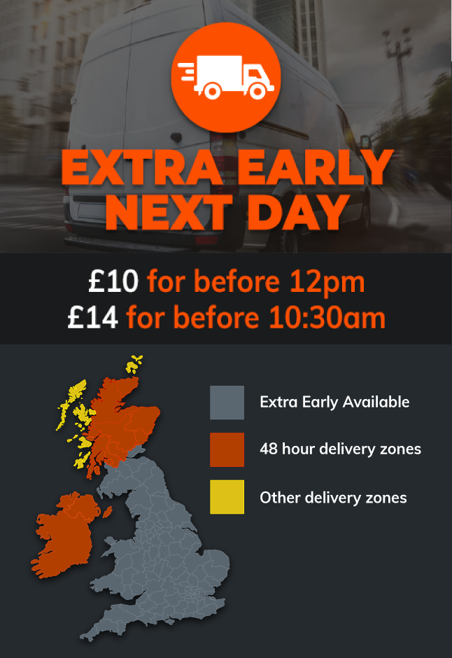 Option 2 Extra Early Next Day Delivery