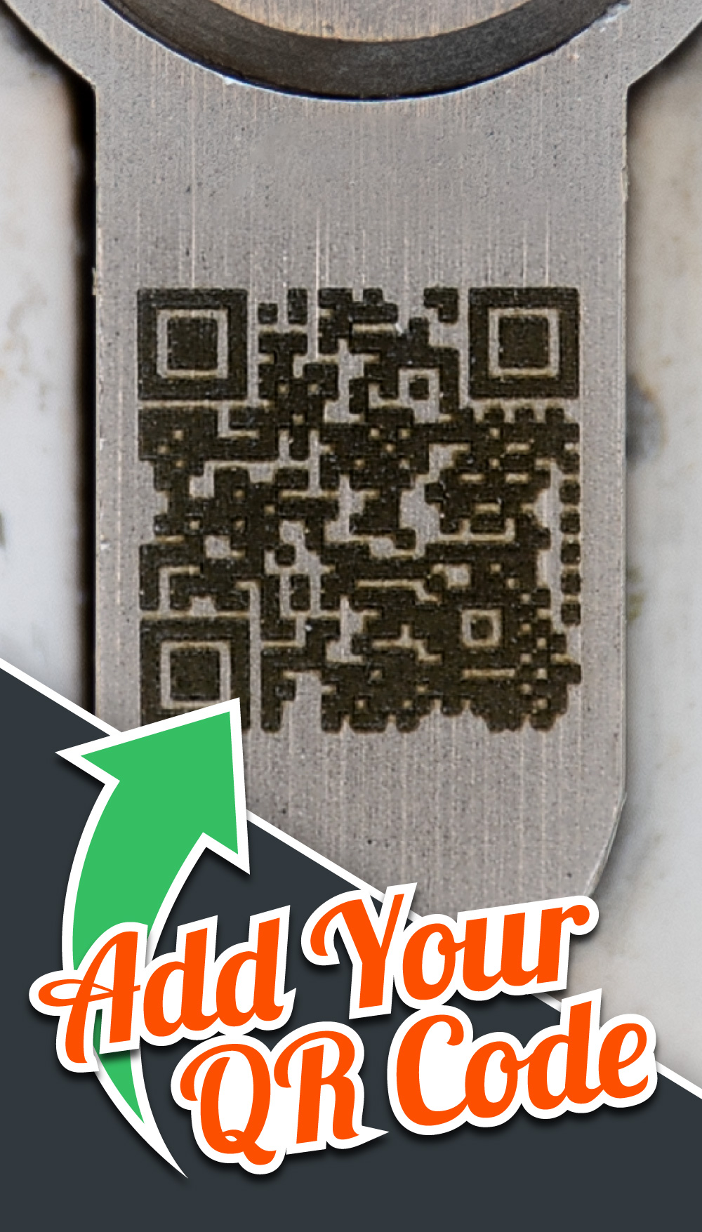Add your QR Code