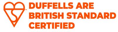 Duffells Are British Standard Certified