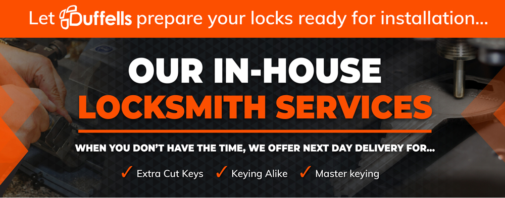 Our In-House Locksmith Services